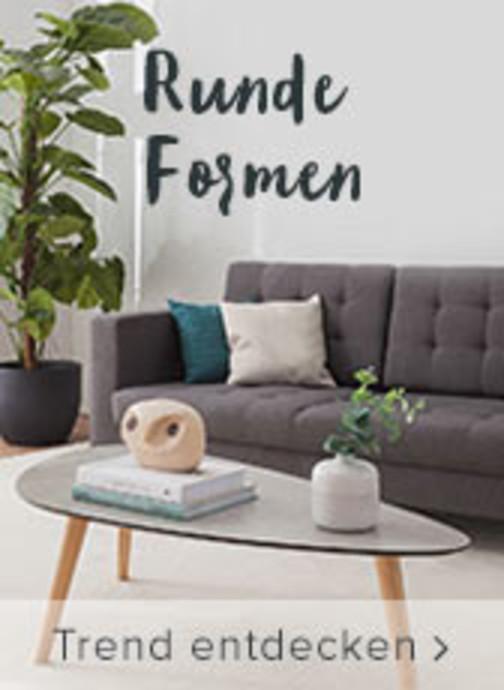 Runde Formen - Trend entdecken