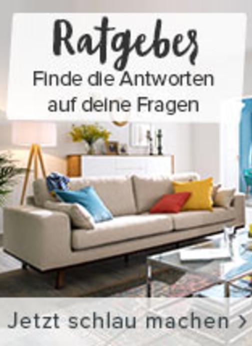 Mit dem home24-Ratgeber erhältst du alle Antworten auf deine Fragen rund um den Möbelkauf.