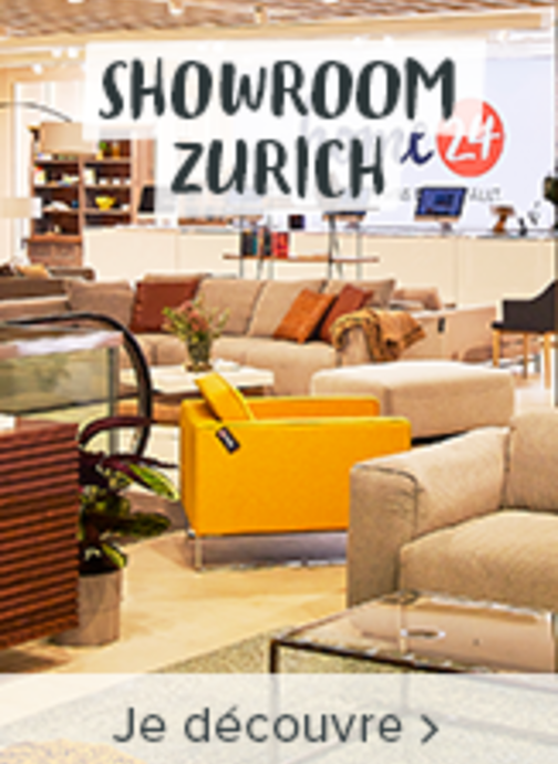 Le nouveau showroom de home24 à Zurich